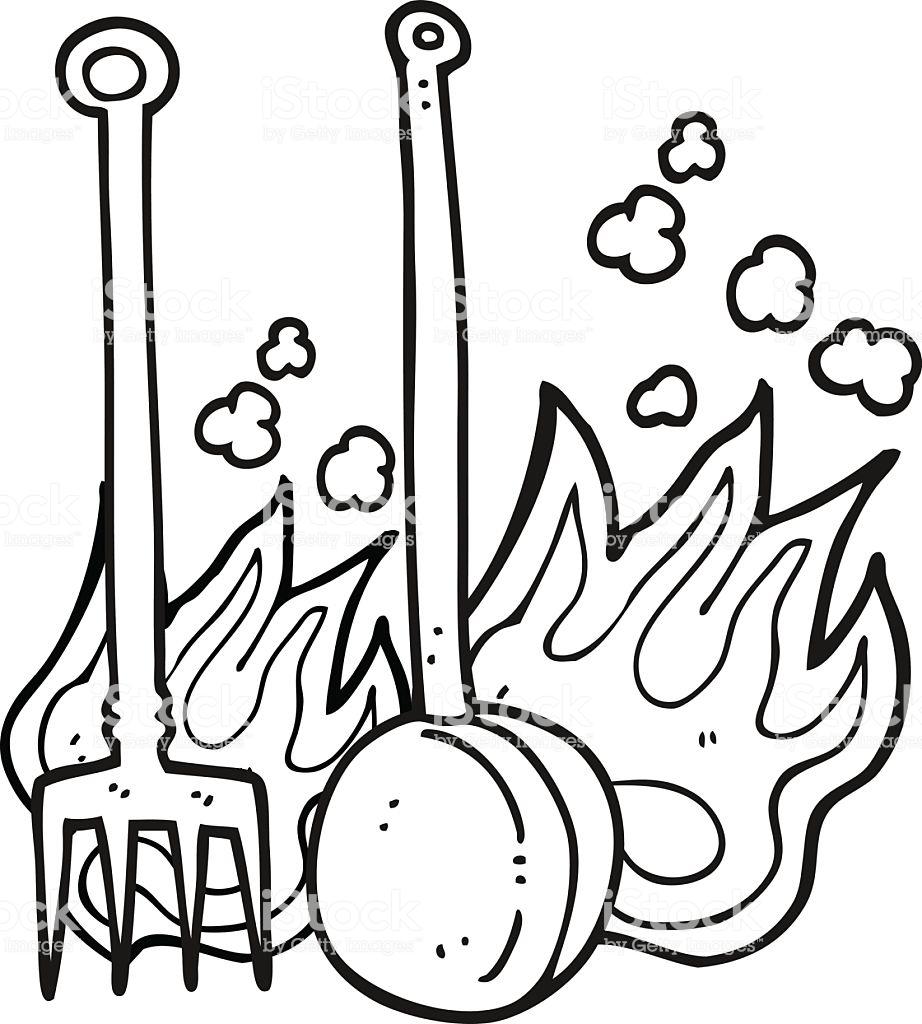 Feuer Zum Ausmalen