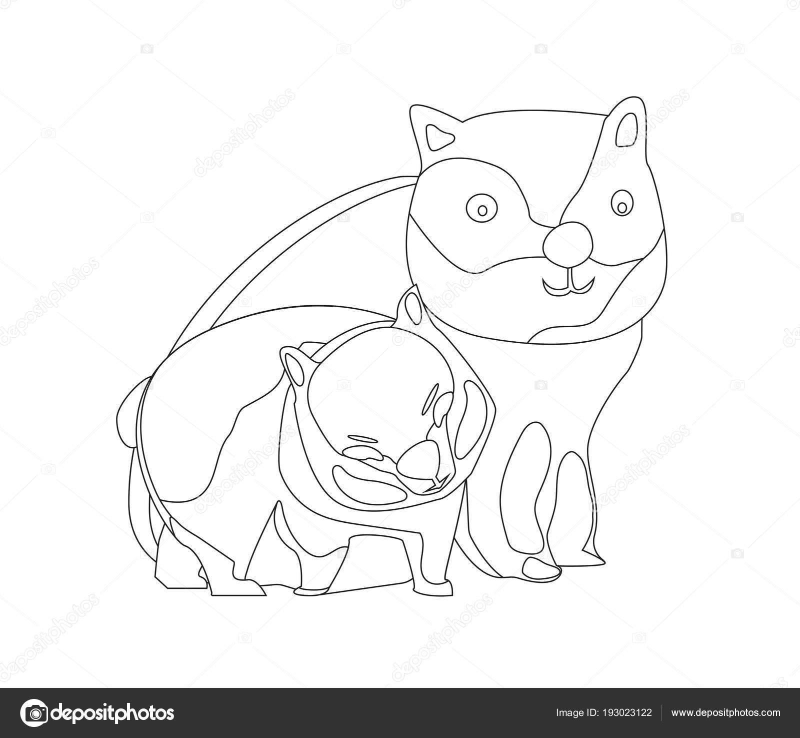 Tierbilder Ausmalen